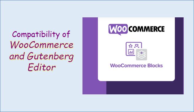 woocommerce Gutenberg editor