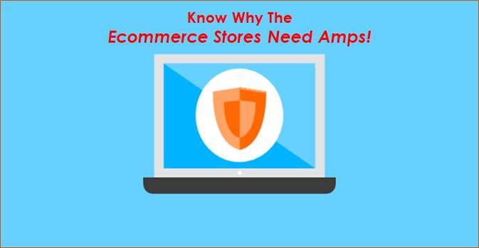eCommerce store needs amps