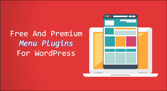 menu plugins WordPress free premium